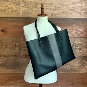"""Vince Camuto """"Luck"""" Vegan Leather Tote"""